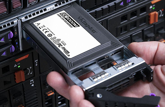Kingston DC1000M : un SSD de 7,68 To à destination des Datacenters