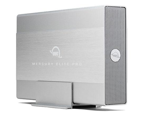 16 To de stockage pour le disque dur externe OWC Mercury Elite Pro !
