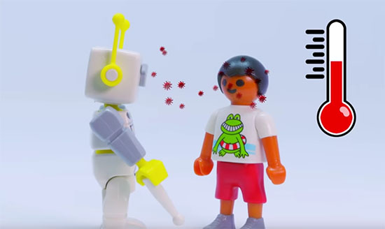 Coronavirus : Quand Playmobil vous aide à expliquer le virus et la situation à vos enfants…