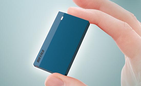 Un SSD portable très compact chez Buffalo