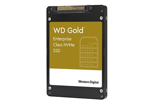 Western Digital propose les SSD WD Gold NVMe pour les entreprises