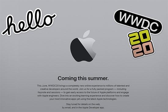 Pour cause de Coronavirus, la WWDC 2020 sera exclusivement une conférence 100% en ligne