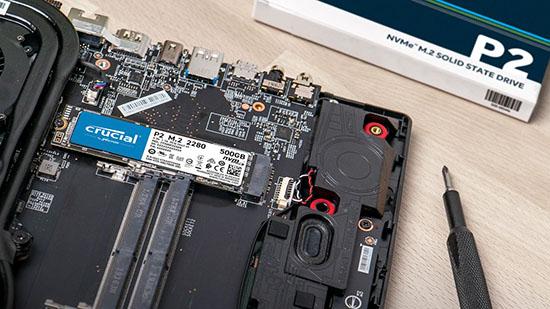 Crucial dévoile le P2 : un nouveau SSD M.2. NVMe d'entrée de gamme