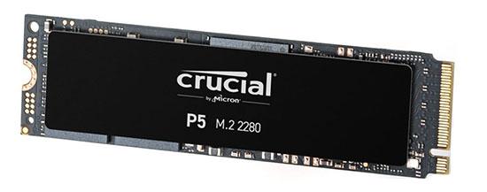 Les SSD Crucial P5 commencent à arriver en boutiques