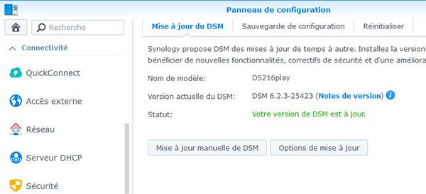 DSM 6.2.3 est disponible pour les NAS Synology