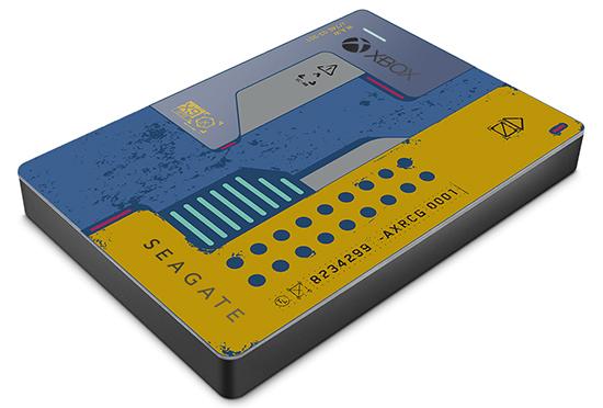 Un disque dur aux couleurs de Cyberpunk 2077 chez Seagate !