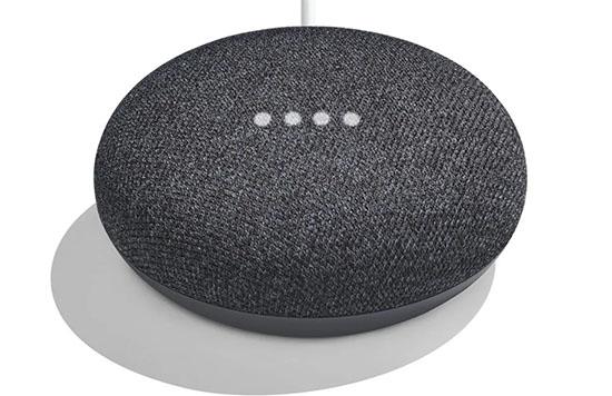 Bon Plan : l'enceinte Google Home Mini de couleur noire à seulement 22€ livrée