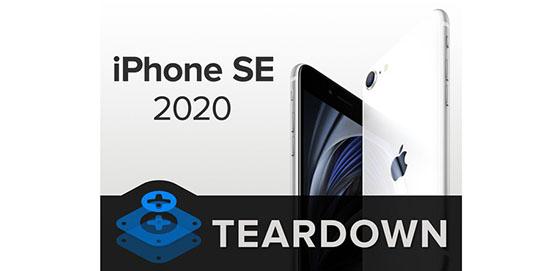 iFixit démonte l'iPhone SE 2020 et lui donne la note de 6 sur 10
