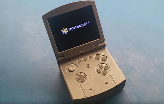 Un fan de retrogaming a fabriqué une Nintendo 64 portable
