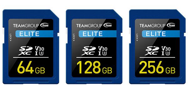 Team Group lance une nouvelle gamme de cartes mémoires SDXC dédiée à l'enregistrement de vidéos 4K