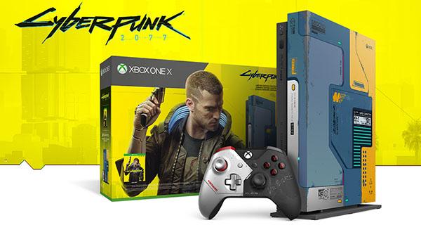 Microsoft annonce une Xbox One X aux couleurs de Cyberpunk 2077