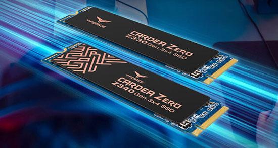 Deux nouveaux SSD M.2. NVMe sont annoncés chez Team Group : le Z330 et le Z340