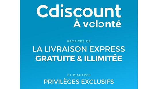 Bon Plan : l'abonnement CDiscount à Volonté est en ce moment à 8€ par an