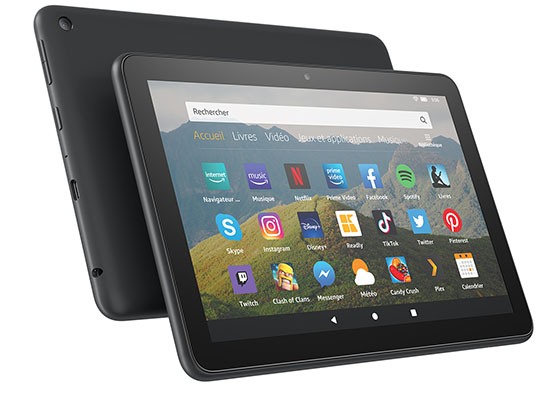 Amazon donne un coup de jeune à sa tablette Fire HD 8