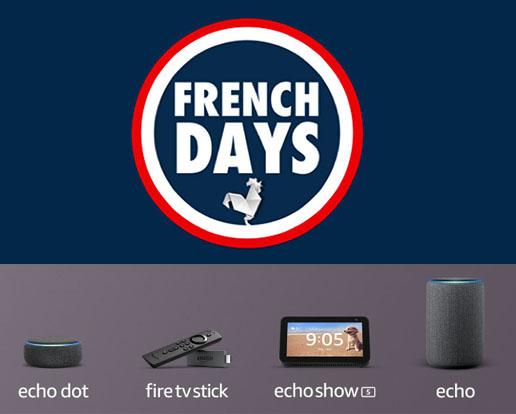 Bon Plan : Amazon baisse le prix des produits connectés Alexa durant les French Days