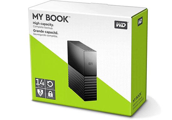 Bon Plan : le disque dur USB 3.0 WD MyBook de 14 To à 254€ livré