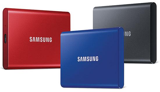 Samsung lance les SSD portables Samsung T7 et T7 Touch