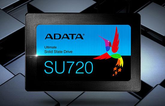 Un nouveau SSD 2,5″ SATA chez ADATA : le SU720 !