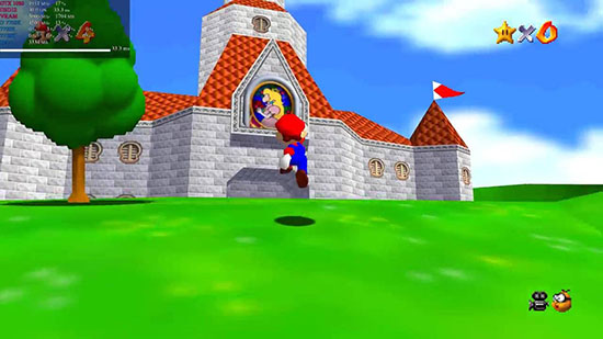 Un portage complet de Super Mario 64 sur PC avec support 4K, DX12, raytracing