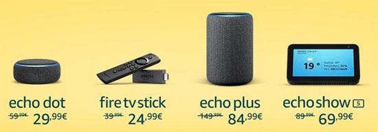 Bon Plan : Amazon réduit le prix de ses produits Echo et Fire TV Stick