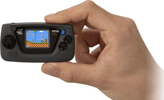 La console Sega Game Gear est de retour ! Et elle est minuscule…