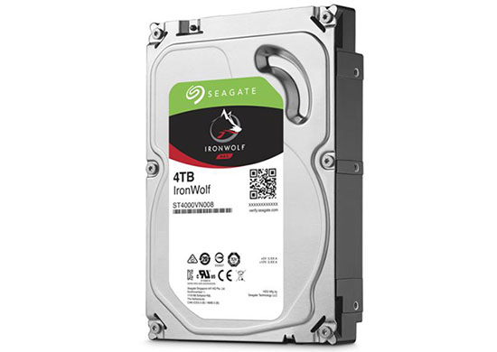 Bon Plan : 99€ le disque dur Seagate IronWolf de 4 To