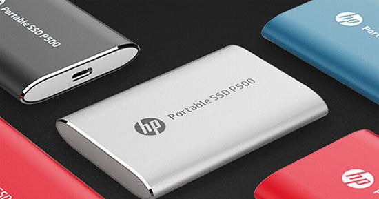 HP P500 : un SSD portable abordable d'une capacité de 1 To