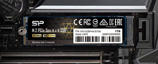 Silicon Power lance son premier SSD M.2. en PCI Express 4.0 (maj avec les tarifs)