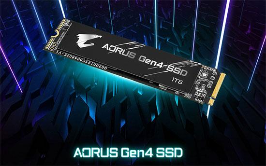 Un nouveau SSD M.2. NVMe en PCI Express 4.0 chez AORUS