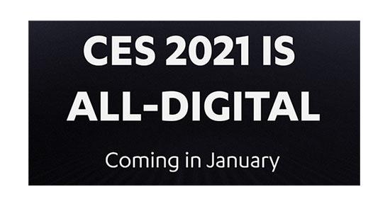 Le CES 2021 sera une édition 100% numérique et en ligne