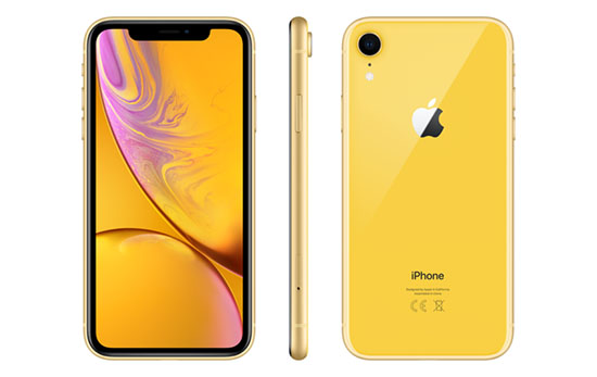 Soldes : 579€ l'iPhone XR jaune de 128 Go