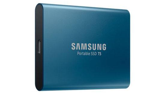 Soldes : 78€ le SSD portable Samsung T5 de 500 Go