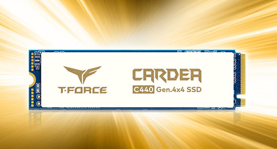 Team Group lance le T-Force C440 : un nouveau SSD en PCI Express 4.0