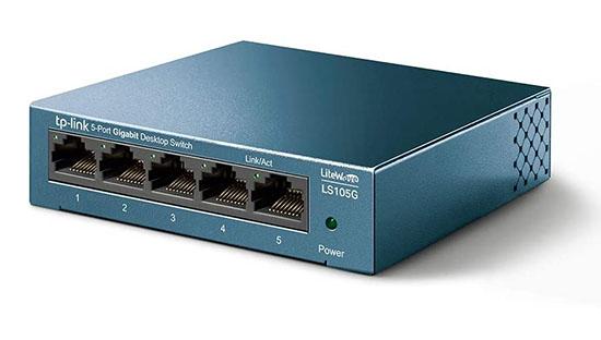 Soldes : 10€ le switch réseau TP-Link LS105G avec 5 ports Gigabit