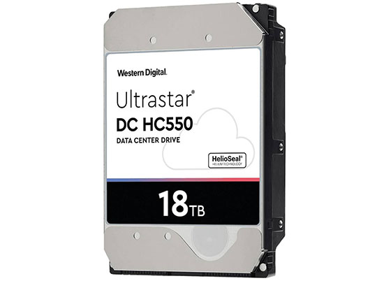 Le disque dur WD Ultrastar DC HC550 de 18 To est enfin disponible