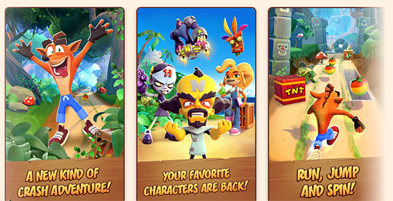 Crash Bandicoot: On the Run fait un carton sur iOS et Android