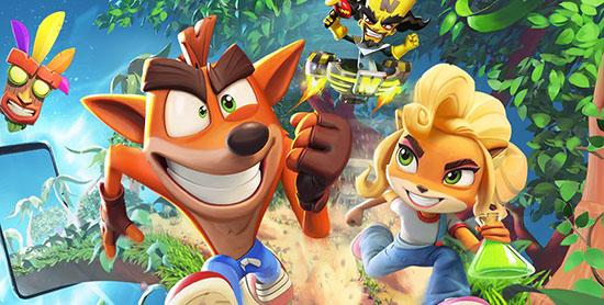 Crash Bandicoot : bientôt sur smartphone et tablette !