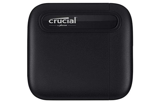 Crucial dévoile un SSD portable extrêmement compact : le X6