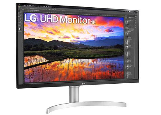Un moniteur 32″ Ultra HD HDR10 chez LG : le 32UN650-W