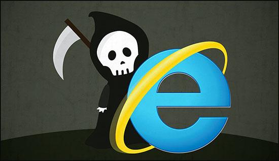 Internet Explorer 11 a un pied dans la tombe