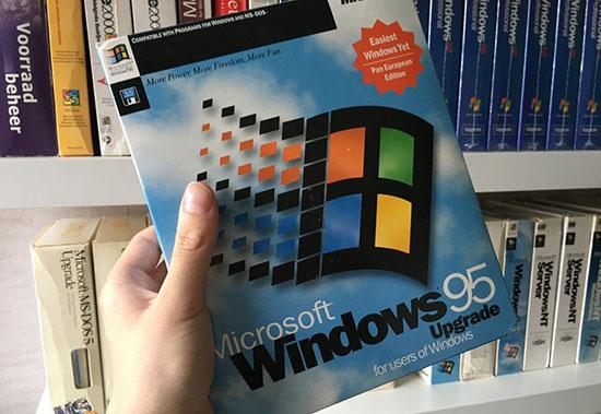 Séquence nostalgie : Windows 95 fête ses 25 ans !