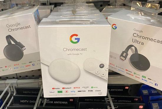Le nouveau Google Chromecast (Sabrina) est déjà dispo aux Etats-Unis