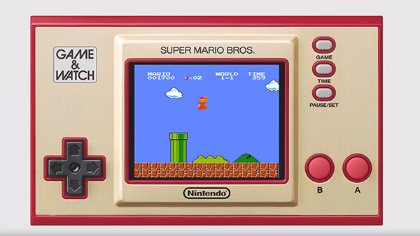 Nintendo réédite une Game & Watch Super Mario Bros pour les fans de retrogaming