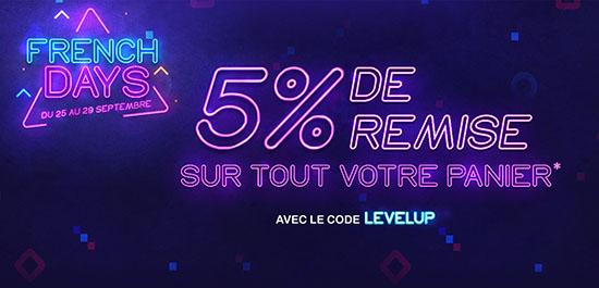 French Days : 5% de remise sur le site Materiel.net