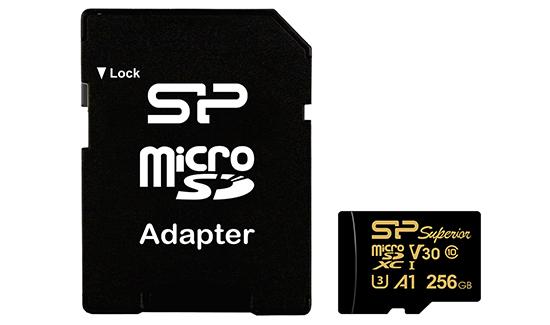 Une nouvelle gamme de micro SDXC endurante chez Silicon Power
