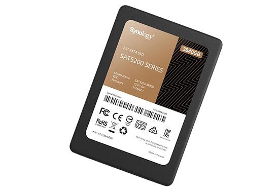 Synology ajoute une version 3,84 To à sa gamme de SSD SAT5200
