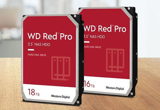 Les disques durs WD Red Pro existent maintenant avec une capacité de 16 et 18 To