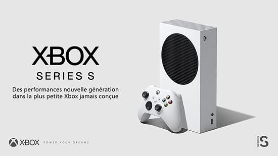 Xbox Series S : Microsoft officialise la console et annonce un prix de 299,99€