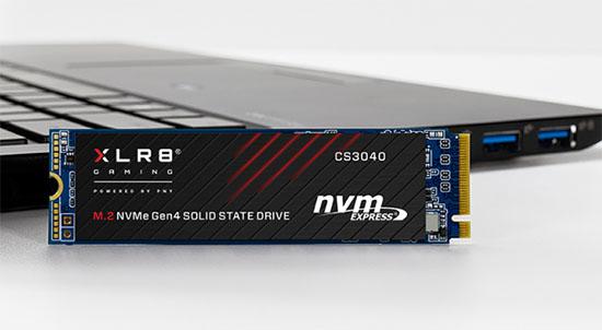 PNY lance le CS3040 : un SSD M.2. NVMe en PCI Express 4.0