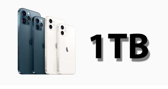 Rumeur du jour : un iPhone 13 avec 1 To de stockage !